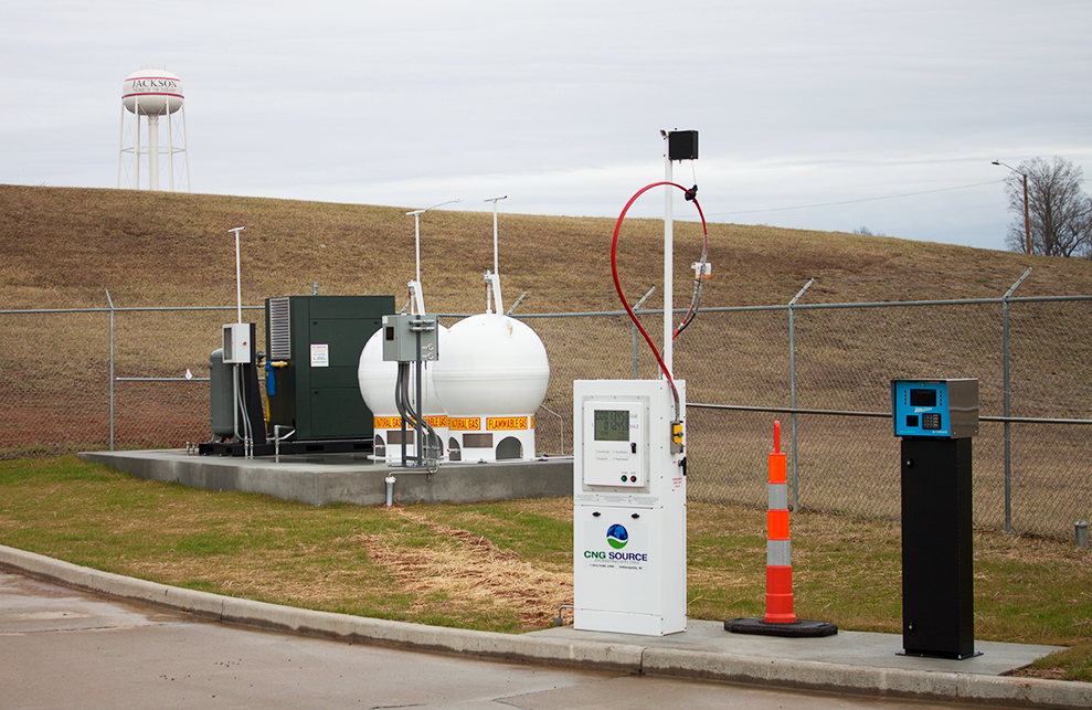 Liberty Utilities Completes Cng Station